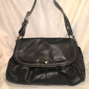 Like NEW! COACH Black Saffiano Leather Bag